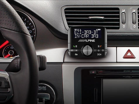 NEW Alpine EZI DAB BT | DAB+ Interface with Bluetooth | Hands-Free Car Digital Radio Thumbnail 4