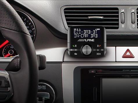 NEW Alpine EZI DAB BT?DAB+ Interface with Bluetooth?Hands-Free Car Digital Radio Thumbnail 4