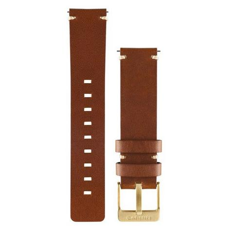 Garmin Replacement Wrist Strap Band | For Vivomove Watch | Light Brown-Leather | New Thumbnail 2