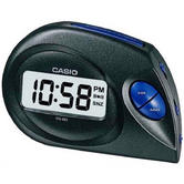 Casio DQ-583-1EF 12/24Time Format Digital Beep Alarm Clock?Snooze Function Black