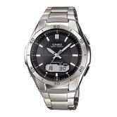 Casio WVA-M640TD-1AER WaveCeptor Radio Controled Solar Watch|Titanimum Grey|LED