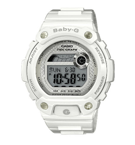 Casio BLX100-7ER Baby-G Watch|Yacht Timer Function|Shock & Water Resist|White| Thumbnail 1