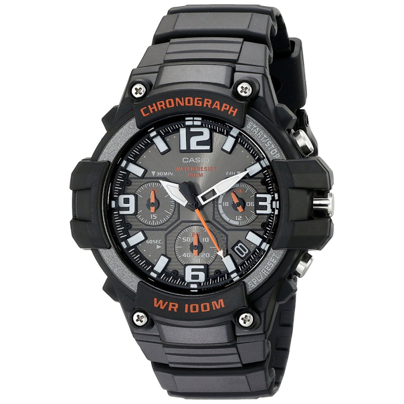 Casio MCW-100H-1AVEF Men Sport Chronograph Watch|Quartz Movement|Timepiece|Black