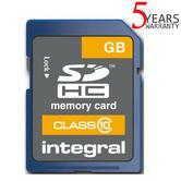 Integral Secure Digital (SD) 32GB Memory Card | High Capacity | Class 10 | INSDH32G10
