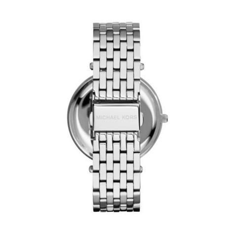 Michael Kors Darci Ladies Watch | Pink Dial Pave Bezel | Silver Bracelet Band | MK3352 Thumbnail 3