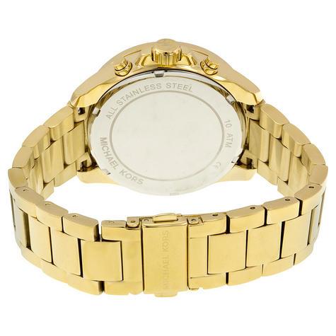 Michael Kors Ladies Wren Ladies Watch | Crystal Pave Chronograph Blue Dial | MK6291 Thumbnail 3