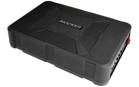 "Kicker 11HS8 Underseat Hideaway 8"" Audio Powered Subwoofer | Plug & Play Bass | 150W Thumbnail 4"