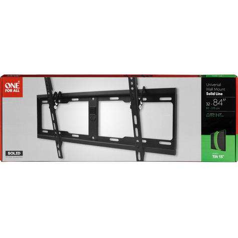 One For All Wall Mount for 32-84 inch TV | Tilt Solid Series | Vertical Angle | WM4621 Thumbnail 3