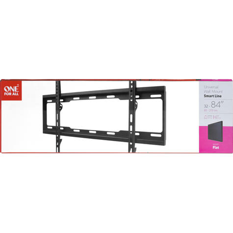 One For All 32-84 inch TV Bracket Wall Mount | Flat Smart Series | Black | WM2611 | NEW Thumbnail 3