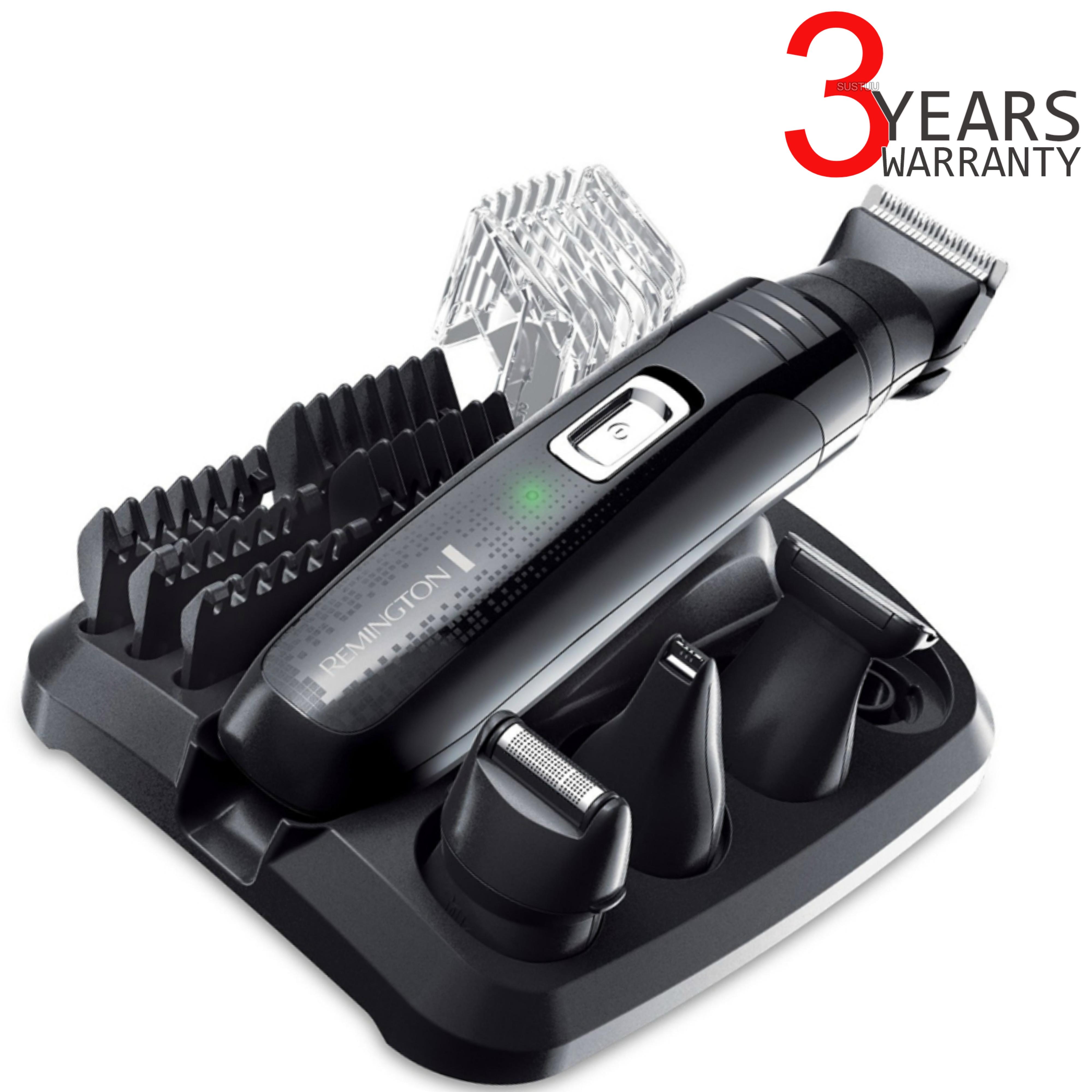 Remington PG6130 Men's Hair 4 in 1 Cordless Shaving Trimmer Clipper Grooming Kit