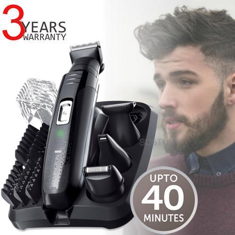 Remington PG6130|Men's Hair|4 in 1|Cordless|Shaving|Trimmer|Clipper|Grooming Kit Thumbnail 1