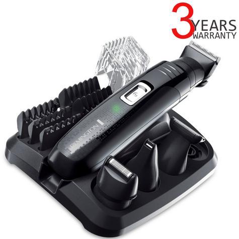 Remington PG6130 Men's Hair 4 in 1 Cordless Shaving Trimmer Clipper Grooming Kit Thumbnail 1