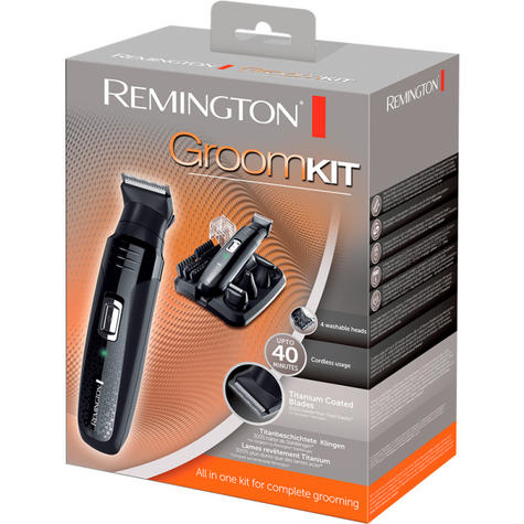 Remington PG6130|Men's Hair|4 in 1|Cordless|Shaving|Trimmer|Clipper|Grooming Kit Thumbnail 4