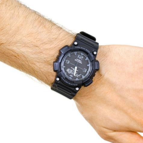 Casio AQ-S810W-1A2VEF Solar Power Analogue Digital Sport Watch|World Time|Alarm| Thumbnail 3