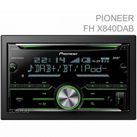 Pioneer In Car Stereo-Media Player?DAB+?CD?USB?Aux?Bluetooth?iPod-iPhone-Android Thumbnail 1