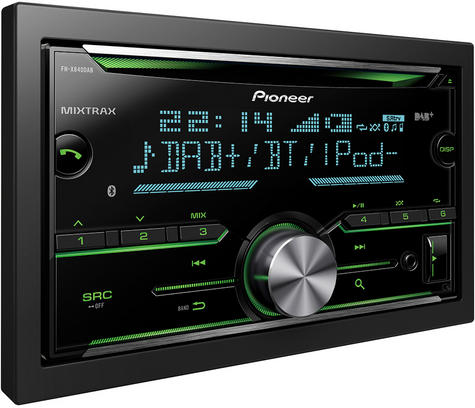 Pioneer In Car Stereo-Media Player?DAB+?CD?USB?Aux?Bluetooth?iPod-iPhone-Android Thumbnail 3
