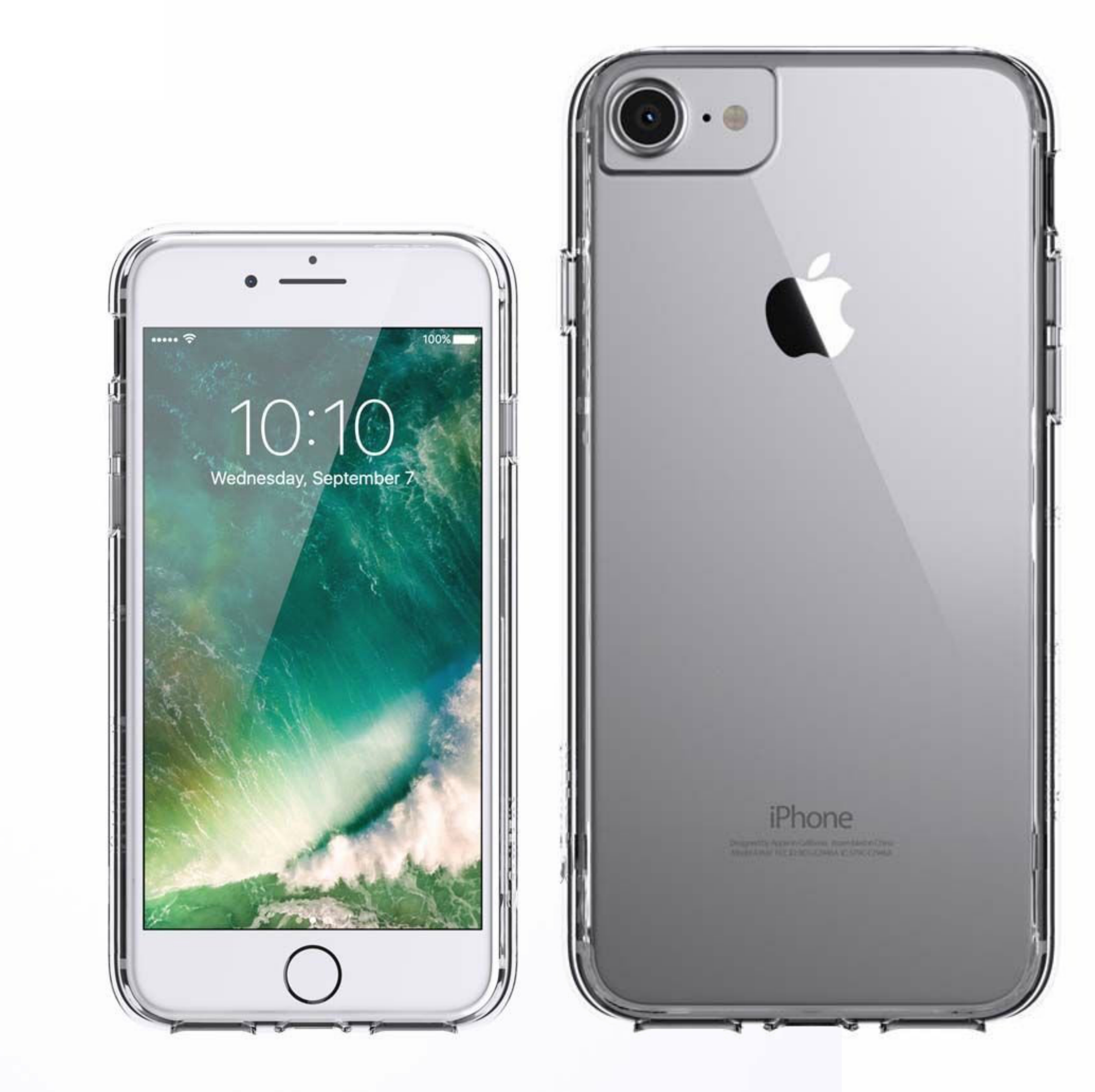 Griffin GB42923 Reveal Ultra-Thin Protective Back Cover|iPhone 7, 6, 6S|Clear|