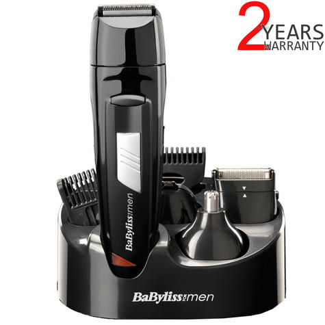 BaByliss 8-in-1 All Over Grooming Shaver Clipper Kit for Men | Rechargeable | 7056CU Thumbnail 1
