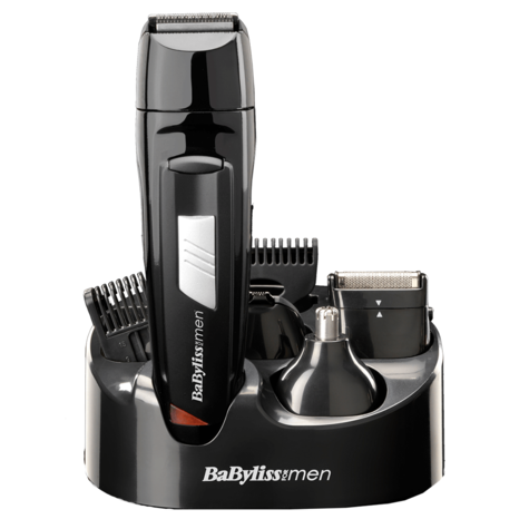 BaByliss 7056CU Rechargeable 8-in-1 All Over Grooming Shaver Clipper Kit for Men Thumbnail 2