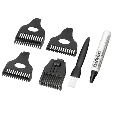 BaByliss 7056CU Rechargeable 8-in-1 All Over Grooming Shaver Clipper Kit for Men Thumbnail 3