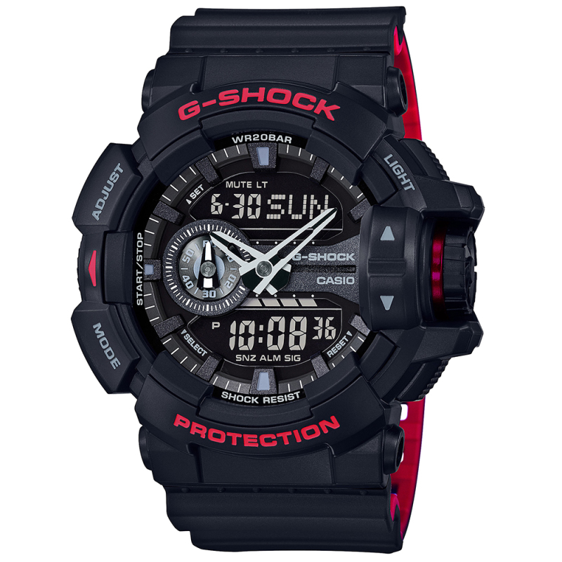 Casio G-Shock GA400HR-1AER Classic Men's Quartz Analogue Watch|200m WR|Black|New