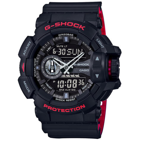 Casio G-Shock GA400HR-1AER Classic Men's Quartz Analogue Watch|200m WR|Black|New Thumbnail 1