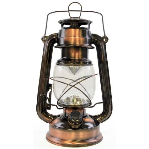 Lloytron D1201CP 15x Bright LED Storm Waterproof Lamp Lantern - Copper Finish Thumbnail 2