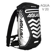 Oxford Aqua V 20 Waterproof Motorcycle/ Bike Backpack Rucksack | 20 Litre | Black