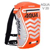 Oxford Aqua V 20 Waterproof Motorcycle/ Bike Backpack Rucksack | 20 Litre | Orange
