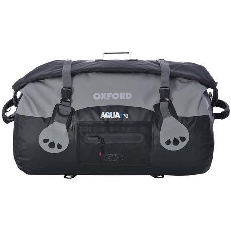 Oxford Aqua T-70 Bag Waterproof Roll Top Closure Bag|Welded SeamsAqua-Black/Grey Thumbnail 1