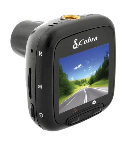 "Cobra CDR820 1080p Full HD Dash Cam Truck Car 1.5"" 5 MP 118° Witness Accident  Thumbnail 1"