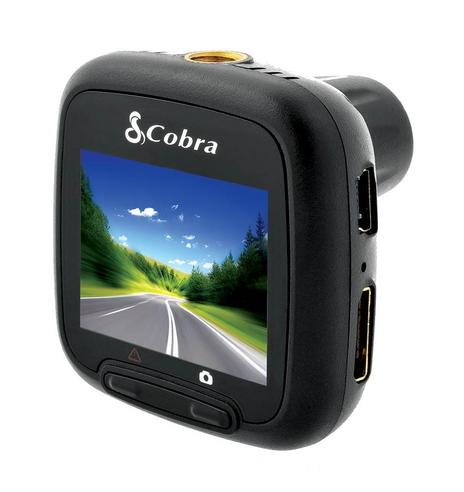 "Cobra CDR820 1080p Full HD Dash Cam Truck Car 1.5"" 5 MP 118° Witness Accident  Thumbnail 4"