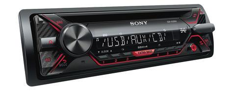 Sony CDX G1201U Car Stereo Media Player|USB/Aux/MP3/WMA|Amber Illumination|4x55W Thumbnail 2
