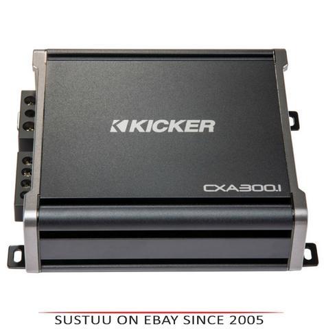 Kicker KA43CXA3001|4 Channel Mono Amplifier|Class D-CX Series-CXA300.1|2Ohm|300W Thumbnail 1