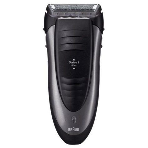 Braun 190s Series 1 Mains Rechargeable SmartFoil Precision Shaver Trimmer -Black Thumbnail 2