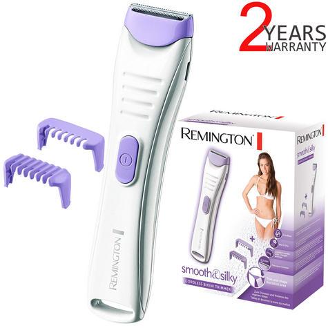 Remington BKT4000 Women's Smooth & Silky Cordless Bikini Trimmer?Wet-Dry?2 Combs Thumbnail 1