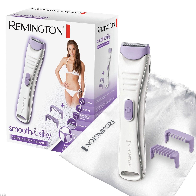 Remington Women's?Smooth & Silky?Wet & Dry?Cordless Bikini Trimmer?BKT400?New