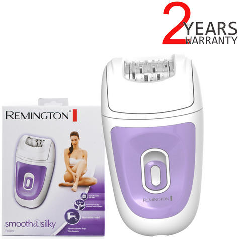 Remington EP7010 Smooth & Silky Corded Epilator?Women's Hair Remover?40 Tweezers Thumbnail 1