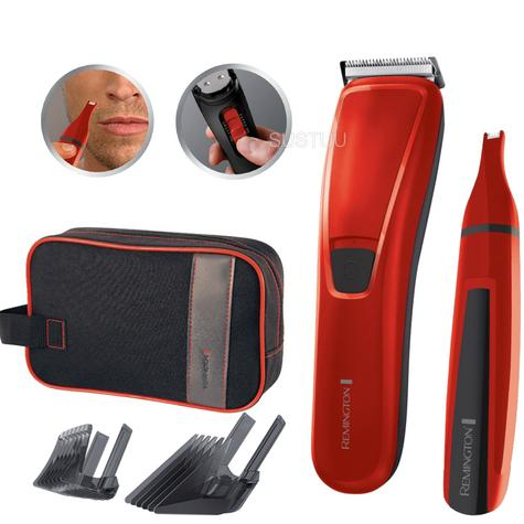 Remington Precision Hair Clipper Gift Pack | Nose & Ear Trimmer | 2 Adjustable Combs Thumbnail 1