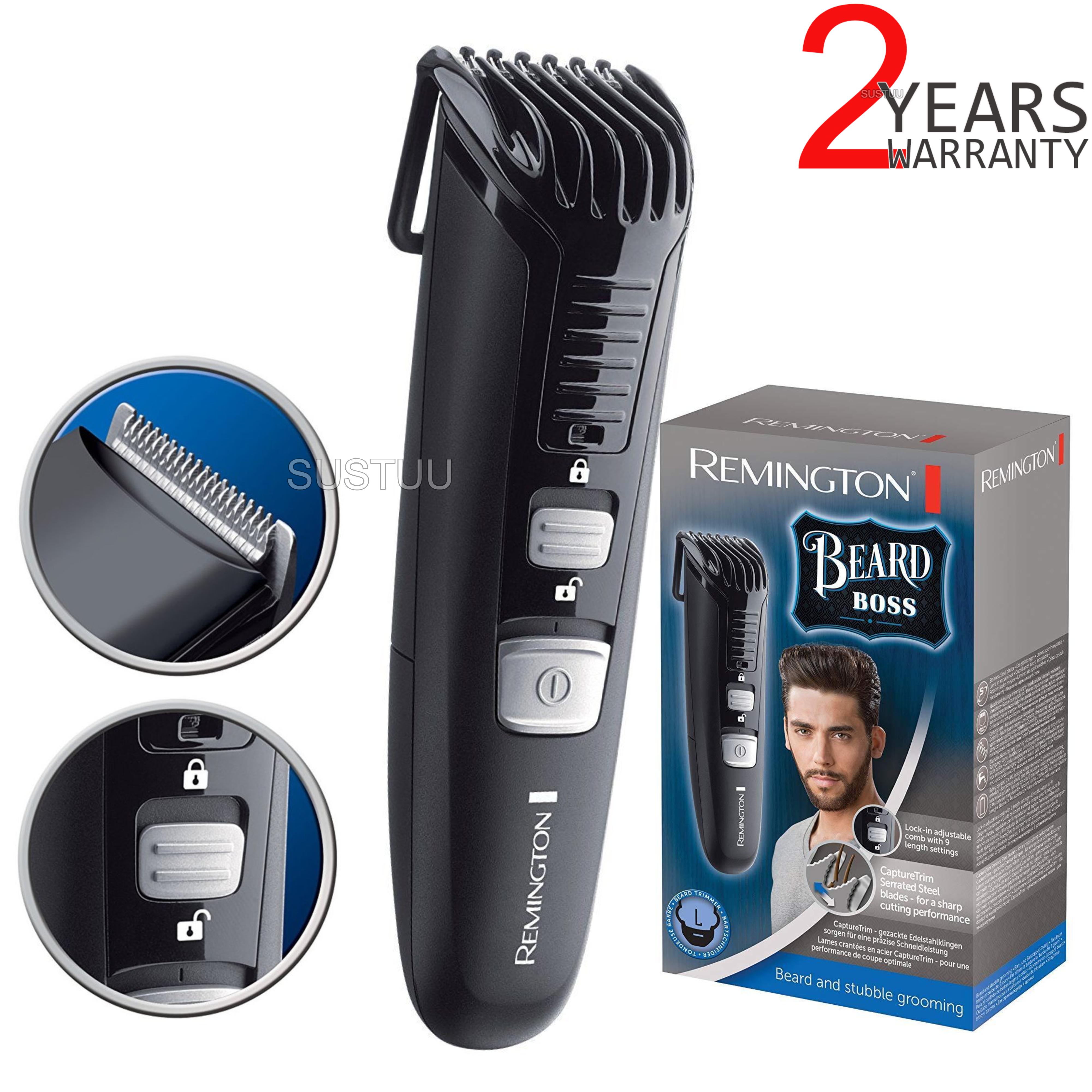 Remington Beard & Stubble Grooming Kit | Trimmer & Shaver | 11 Length Settings | Black