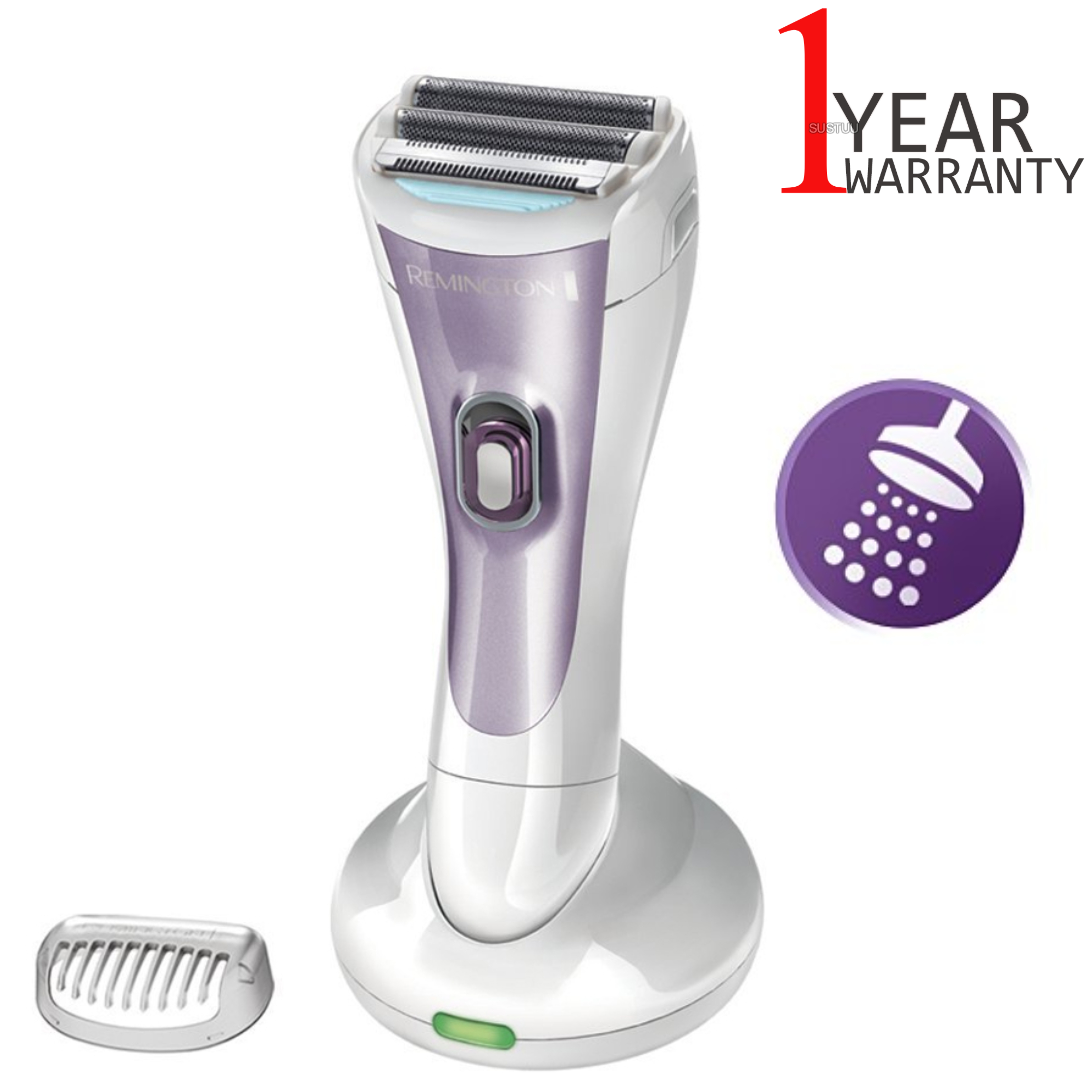 Remington Smooth & Silky Rechargeable Lady Shaver | Double Foil Head | Wet & Dry | NEW