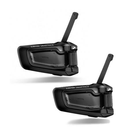 Cardo Scala Rider SmartPack Duo Bluetooth Headset | Motorcycle Helmet Intercom Thumbnail 1