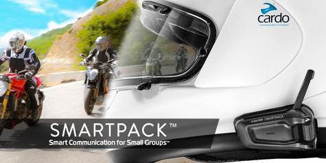 Cardo Scala Rider SmartPack Duo Bluetooth Headset | Motorcycle Helmet Intercom | Black Thumbnail 4