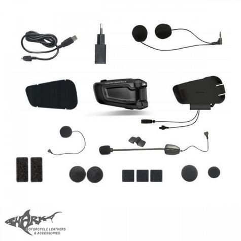 Cardo Scala Rider SmartPack Duo Bluetooth Headset | Motorcycle Helmet Intercom | Black Thumbnail 5