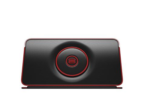 Bayan Audio|Soundbook Go Portable Bluetooth Wireless Speaker|NFC Pairing - Red Thumbnail 2