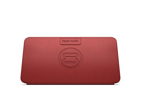 Bayan Audio|Soundbook Go Portable Bluetooth Wireless Speaker|NFC Pairing - Red Thumbnail 4