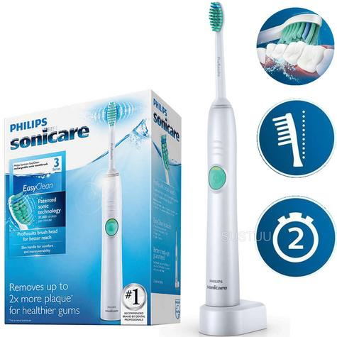 Philips Sonicare Easyclean Electric Rechargeable Toothbrush | Quadpacer-SmartTimer Thumbnail 1