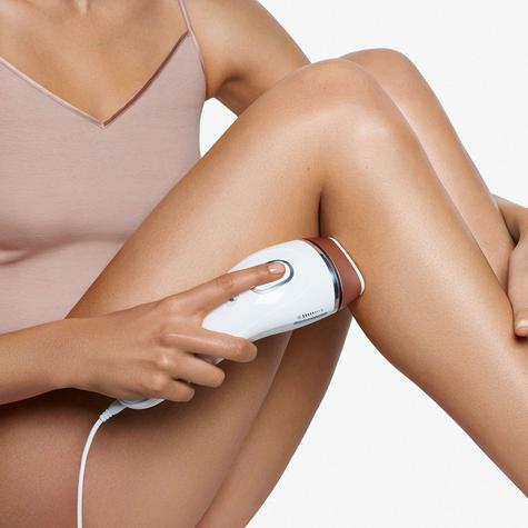 Braun Silk-Expert IPL Body & Face Laser Hair Removal and System Sonic Body Exfoliator Thumbnail 5