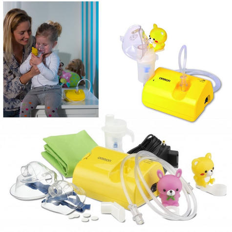 Omron Childrens Nebuliser CompAir / low Noise / Light Weight + Fun Kids Accessories Thumbnail 2