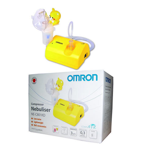 Omron Childrens Nebuliser CompAir / low Noise / Light Weight + Fun Kids Accessories Thumbnail 7